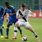 Legia Warszawa - FK Kukesi 1-0 w el. Ligi Europejskiej