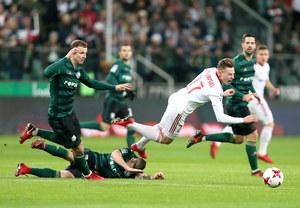 Legia Warszawa - Górnik Zabrze 1-0 w 16. kolejce Ekstraklasy
