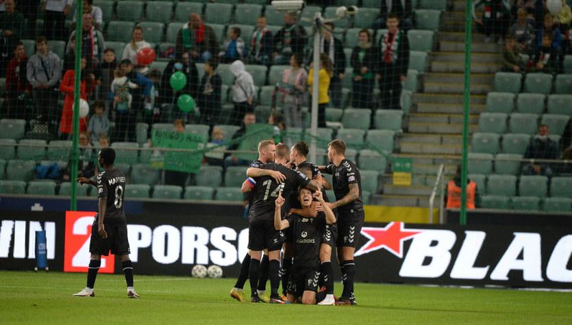 Legia Warszawa - Górnik Zabrze 1-3 w 4. kolejce PKO Ekstraklasy