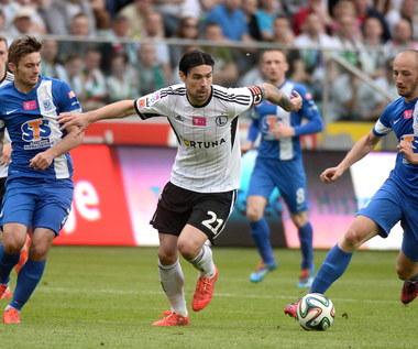 Legia Warszawa - Lech Poznań 1-2 w Ekstraklasie