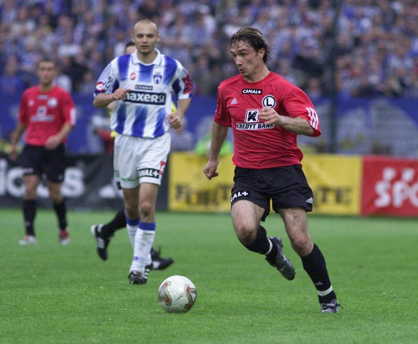 Legia Warszawa - Lech Poznań z maja 2003 roku /PAWEL HOFFMAN /Newspix