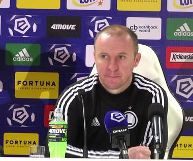 Legia Warszawa - ŁKS 3-1. Aleksandar Vuković o meczu. Wideo