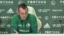 Legia Warszawa. Michał Kucharczyk o swojej roli w ustawieniu 3-5-2. Wideo