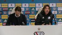 Legia Warszawa - Piast Gliwice 2-0. Ricardo Sa Pinto ma dość tych pytań. Wideo