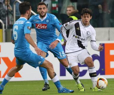 Legia Warszawa - SSC Napoli 0-2 w Lidze Europejskiej