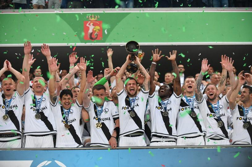 Legia Warszawa to mistrz Polski sezonu 2016/17 /Bartłomiej Zborowski /PAP