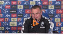 Legia Warszawa. Trener Czesław Michniewicz po meczu z Lechem Poznań. Wideo