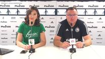 Legia Warszawa. Trener Czesław Michniewicz przed meczem z Wisłą Płock. Wideo