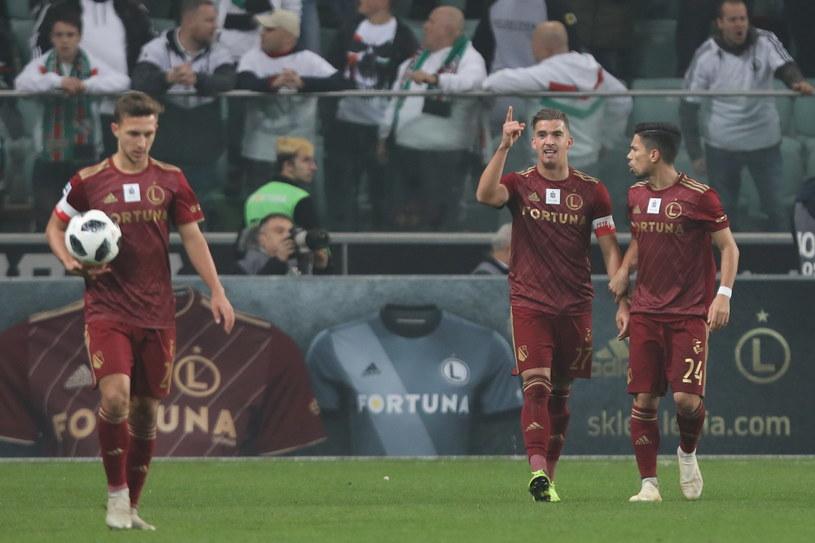 Legia Warszawa w 14. kolejce wysoko wygrała z Górnikiem Zabrze / Leszek Szymański    /PAP