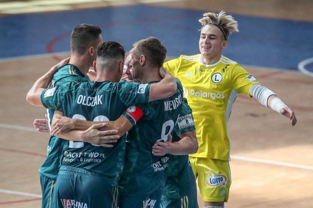 Legia Warszawy do tej pory spisuje się świetnie /Marcin Szymczak /