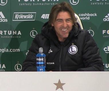 Legia - Wisła. Ricardo Sa Pinto o przygotowaniach. Wideo