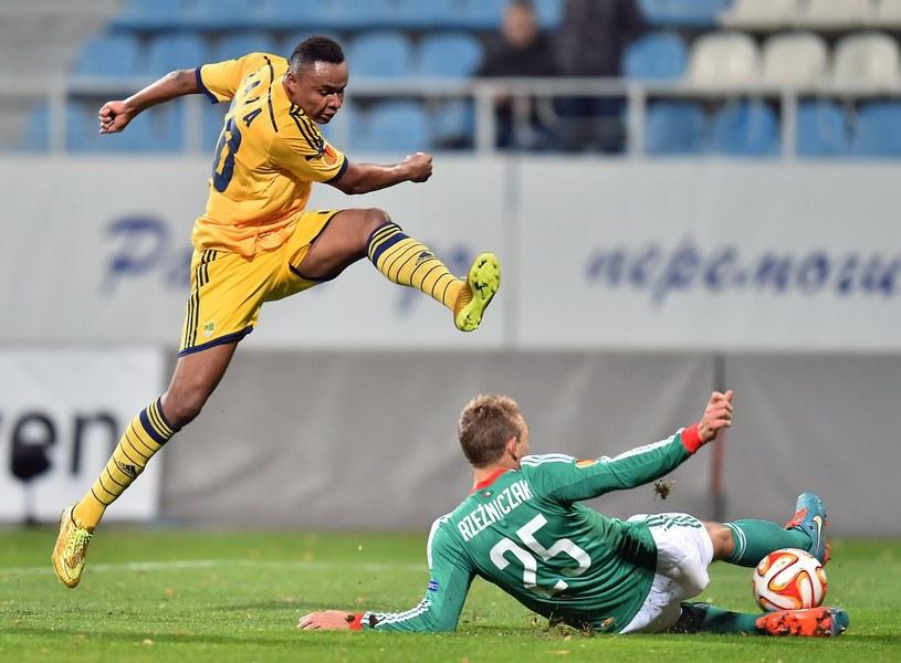 Legia wygrała 1-0 pierwszy mecz z Metalistem Charków /AFP