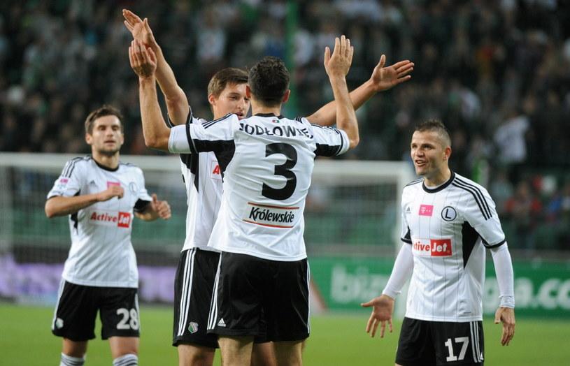 Legia wygrała w sobotę ze Śląskiem Wrocław /Fot. Bartłomiej Zborowski /PAP