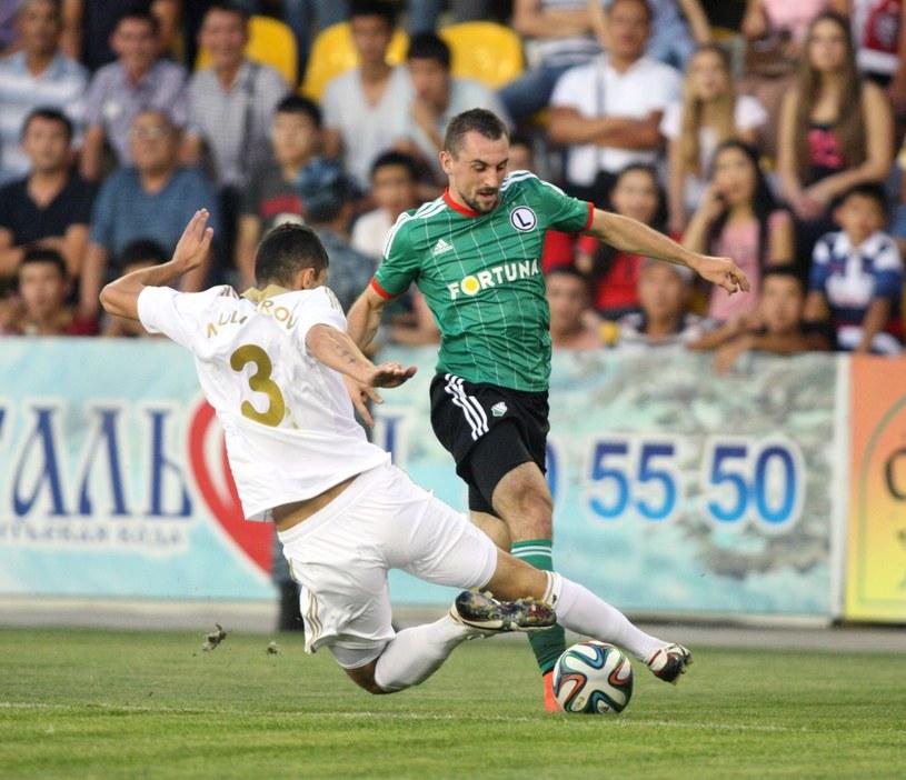 Legia wygrała z FK Aktobe 1-0 w pierwszym meczu 4. rundy eliminacji LE /PAP/EPA