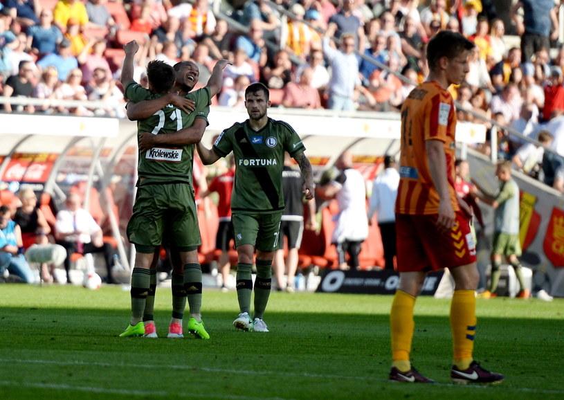 Legia wygrała z Koroną 1-0 /Fot. Piotr Polak /PAP