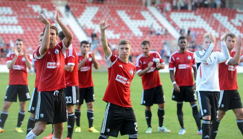 Legia wygrała z The New Saints, ale swoją grą nie zachwyciła /Fot. Bartłomiej Zborowski /PAP