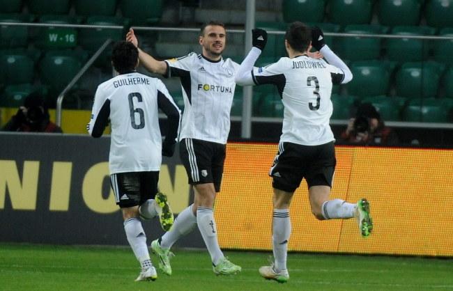 Legia zajęła pierwsze miejsce w grupie L Ligi Europejskiej /Bartłomiej Zborowski /PAP