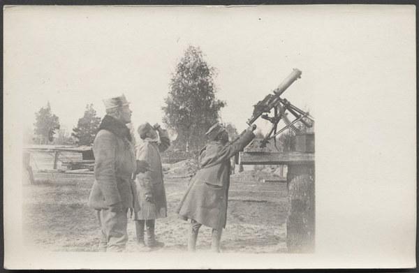 Improwizowany ogień przeciwlotniczy (1916)