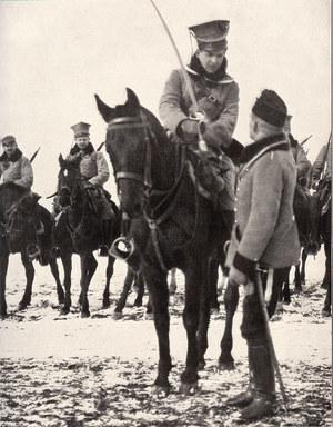 Legiony Polskie walczyły pod znakiem Orła Białego, występując jako sojusznik jednego z zaborców przeciwko innemu, znacznie groźniejszemu. Polityka to sztuka wykorzystywania okazji, jakie niesie los… /Odkrywca