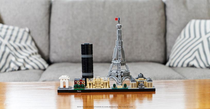 LEGO Architecture: Paryż /materiały prasowe