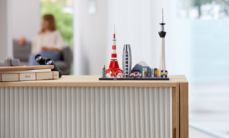 LEGO Architecture: Tokio /materiały prasowe
