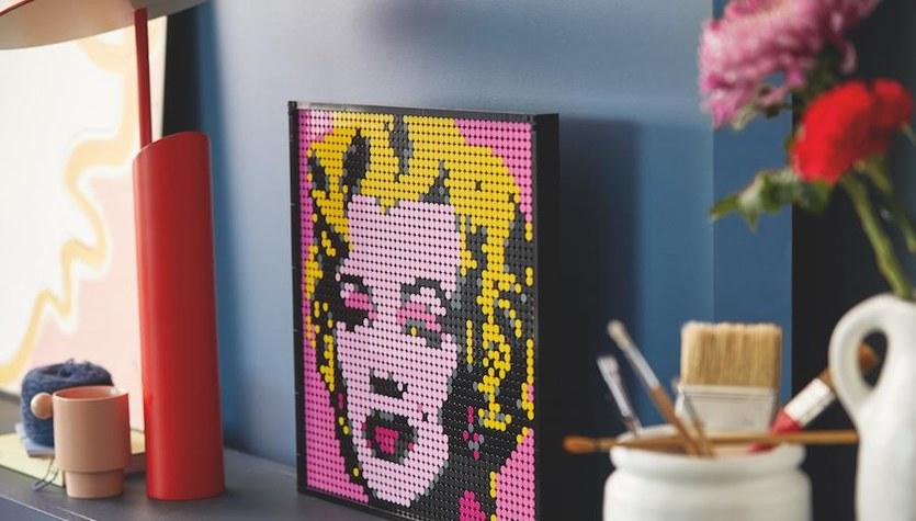 Lego Art: Klocki, które zechcesz powiesić na ścianie!