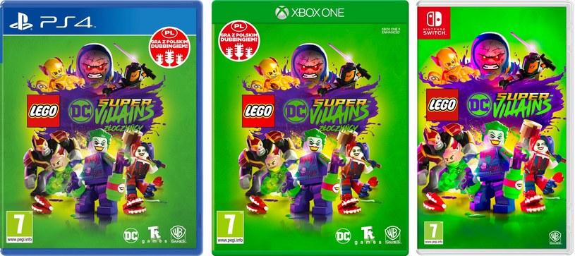 LEGO DC Super-Złoczyńcy /materiały prasowe