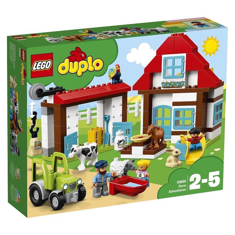"""LEGO DUPLO """"Przygody na farmie"""" /materiały prasowe"""