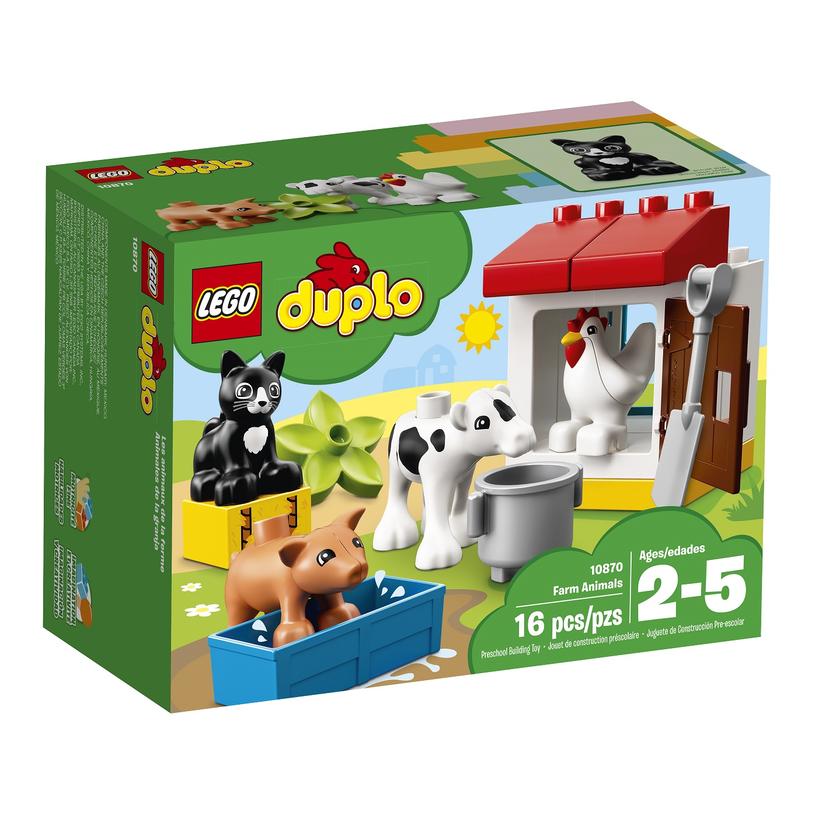 LEGO DUPLO Zwierzątka hodowlane /materiały prasowe