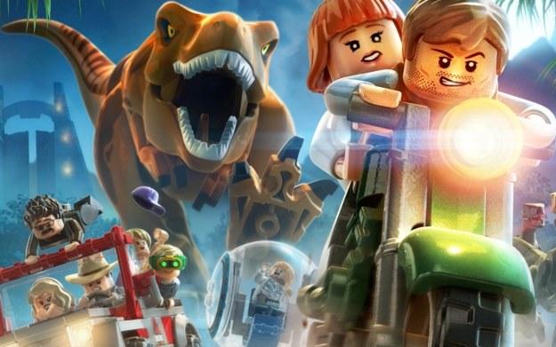 LEGO Jurrassic World /materiały prasowe