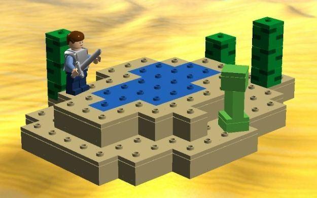 Powstają Klocki Lego Inspirowane Minecraftem Gry W Interiapl