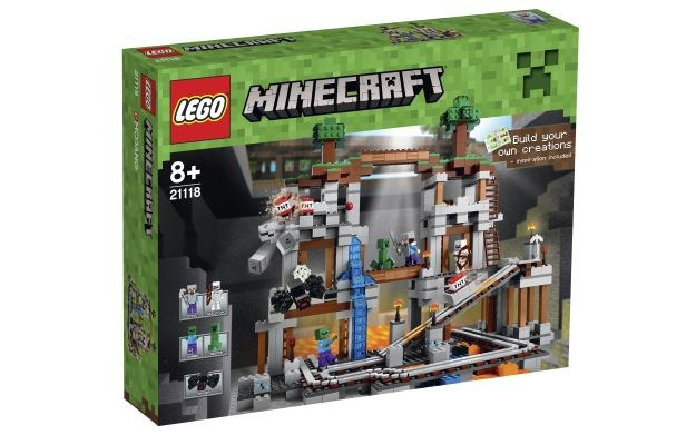 Lego Minecraft Kultowa Gra Wideo W Wersji Lego Gry W Interiapl