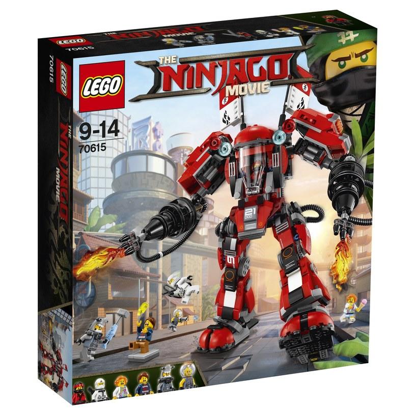 LEGO Ninjago - Ognisty robot /materiały prasowe