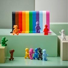 LEGO produkuje zestaw tęczowych klocków. To wyraz wsparcia LGBT