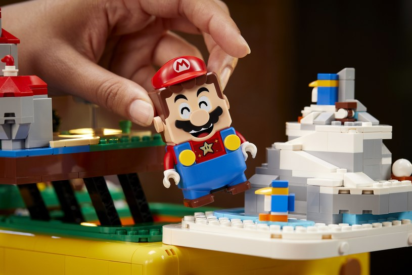 LEGO Pytajnikowy blok Super Mario 64 /materiały prasowe