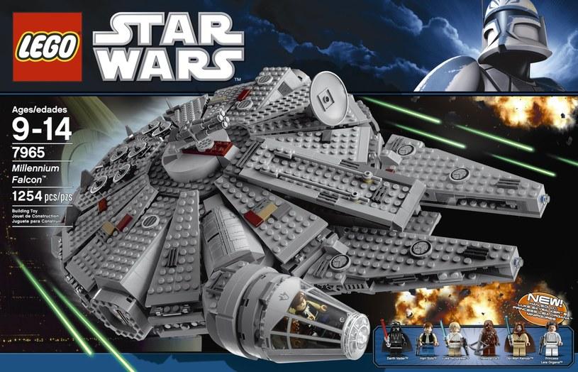 LEGO: Sokół Millenium /materiały prasowe