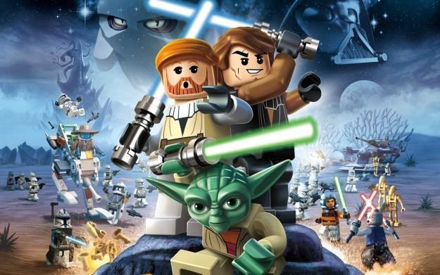LEGO Star Wars III: The Clone Wars - motyw graficzny /Informacja prasowa