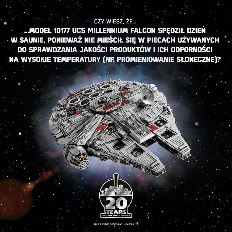 """LEGO """"Star Wars"""": Model 10177 UCS Millennium /materiały prasowe"""