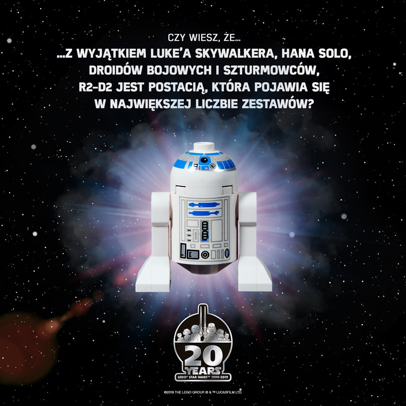 """LEGO """"Star Wars"""": R2-D2 /materiały prasowe"""