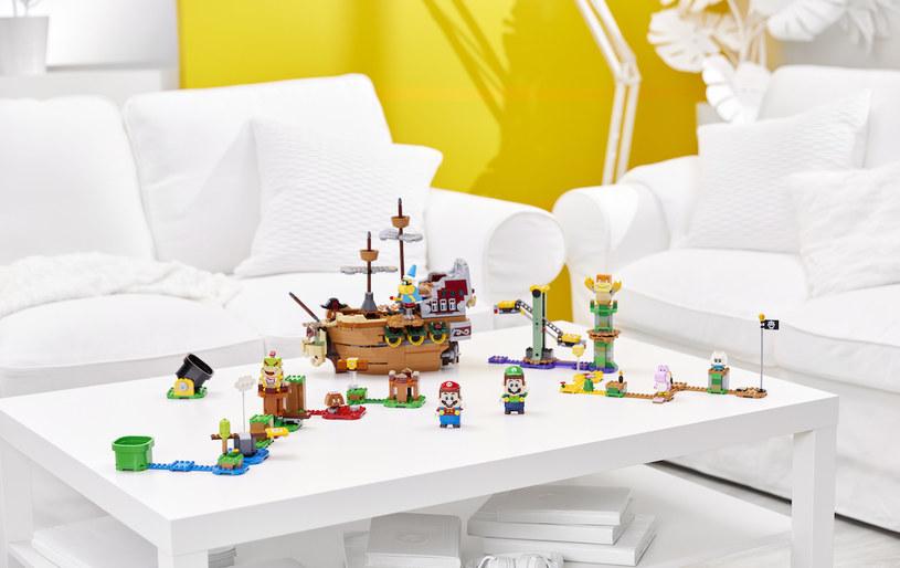 Lego Super Mario Bowser's Airship to najbardziej imponujący, ale też najciekawszy, z nowych zestawów /materiały prasowe