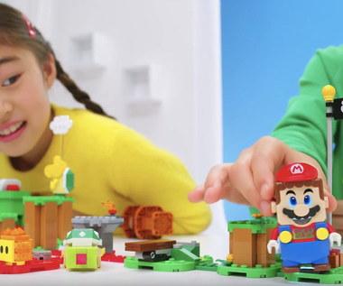 LEGO Super Mario pozwoli zbudować własny poziom
