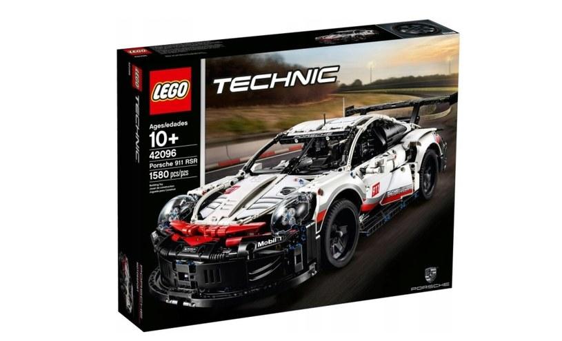 LEGO Technic Porsche 911 RSR /materiały prasowe