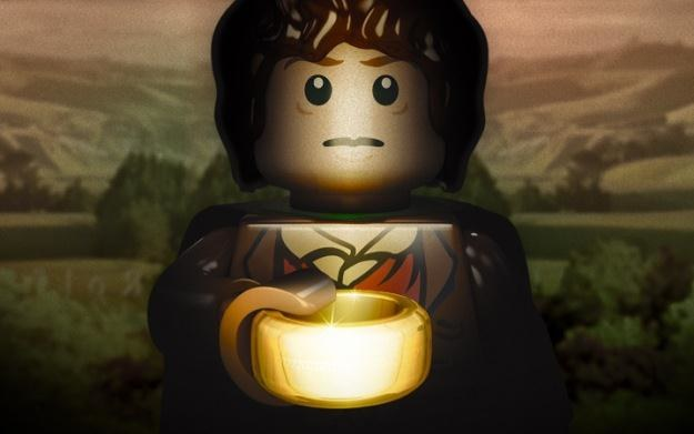 LEGO: The Lord of the Rings - motyw graficzny /Informacja prasowa