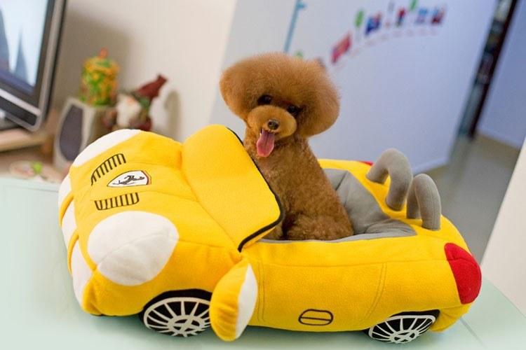 Legowisko w kształcie auta? Wasz pies je pokocha! /aliexpress.com /Internet