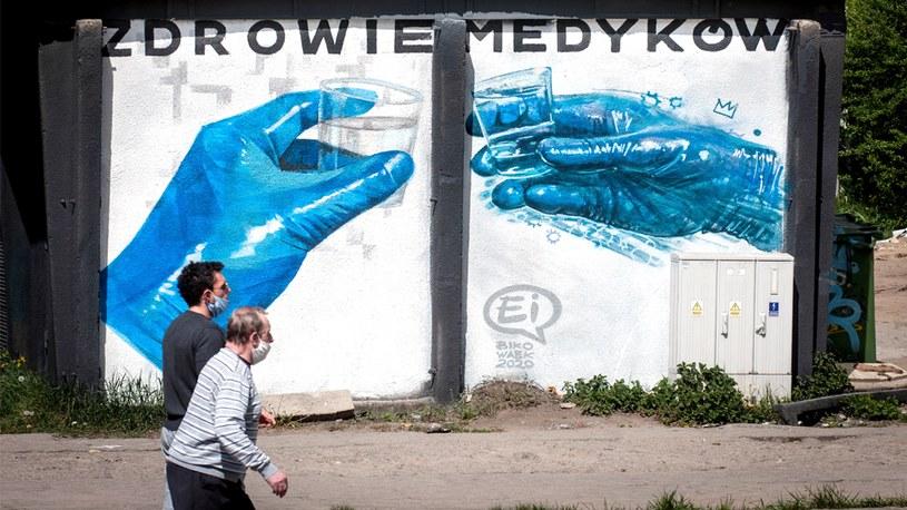 Lęk przed koronawirusem słabnie; zdj. ilustracyjne /Bartlomiej Kudowicz   /Agencja FORUM
