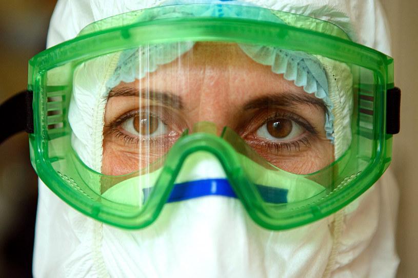 Lekarka w czasie pandemii koronawirusa, zdjęcie ilustracyjne /UKRINFORM    /East News