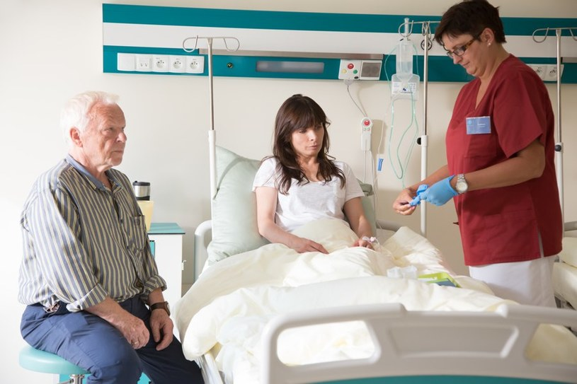 Lekarz od początku ostrzegał Przybysz, że jej ciąża jest zagrożona... /Agencja W. Impact