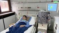 Lekarze i pacjenci łódzkiego szpitala dziękują WOŚP