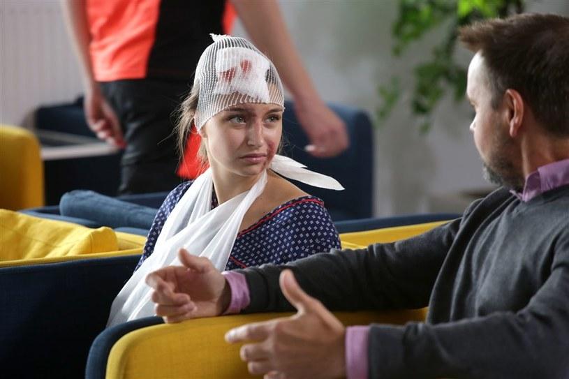 """""""Lekarze na start"""": Julia Wieniawa-Narkiewicz popełni samobójstwo z miłości? /Agencja W. Impact"""
