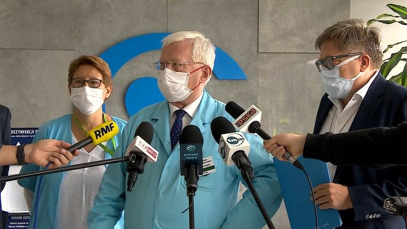 Lekarze z Centrum Zdrowia dziecka poinformowali o śmierci 5-letniego Afgańczyka /Polsat /Polsat News